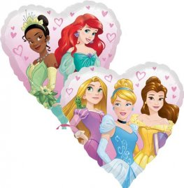 "18"" Disney Princess Heart Foil Balloons"