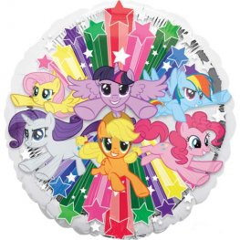 "18"" My Little Pony Gang Foil Balloons"