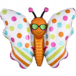 Fun In The Sun Butterfly Supershape Balloons