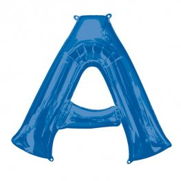 Blue Letter A Supershape Balloons