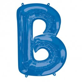Blue Letter B Supershape Balloons