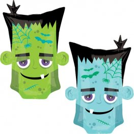 Monster Head Supershape Balloons