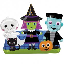 Halloween Friends Supershape Balloons