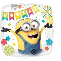 "18"" Despicable Me Party Foil Balloons"