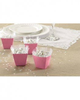 Pink Favour Scallop Boxes 100pk