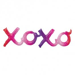 "39"" XOXO Ombre Phrase Air Filled Balloons"