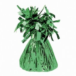 Emerald Green Fringed Foil Balloon Weights 6oz
