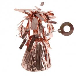 Rose Gold Fringed Foil Weights 6oz