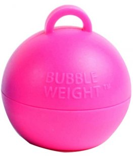Hot Pink Bubble Balloon Weights