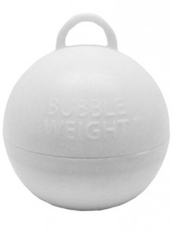 White Bubble Balloon Weights