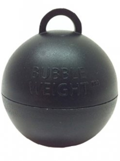 Black Bubble Balloon Weights