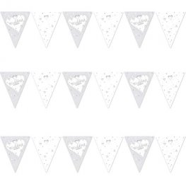 Wedding Wishes Flag Bunting