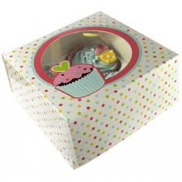 Sweet Treats Cupcake Boxes x2