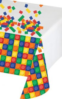 Block Party Plastic Tablecover 1pk