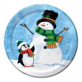 Penguin Pal Dinner Plates x8