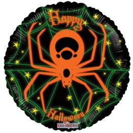 "18"" Neon Spider Foil Balloons"