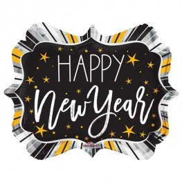 "18"" Happy New Year Marquee Foil Balloons"