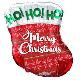 "18"" Christmas Stocking Shape Balloons"