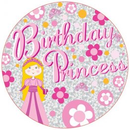 Birthday Princess Giant Party Badge
