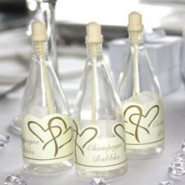 Ivory Top Champagne Bubbles x24