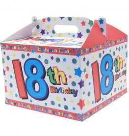 18th Birthday Party Balloon Box