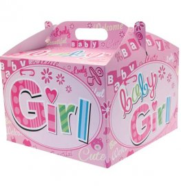 New Baby Girl Party Balloon Box