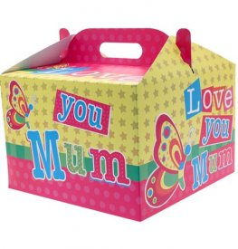 Love You Mum Party Balloon Box