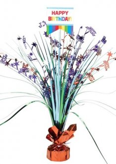 Primary Rainbow Spray Centrepiece