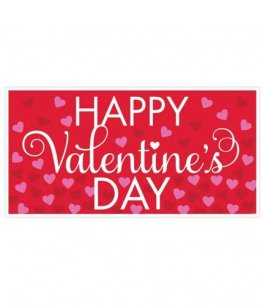 Valentines Day Large Horizontal Banner