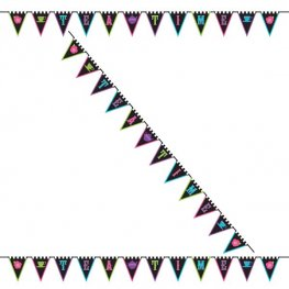 Mad Tea Party Pennant Bunting