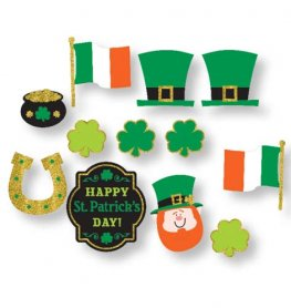 St Patricks Day Value Pack Cut Outs 12pk