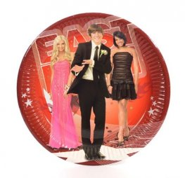 High School Musical Paper Plates x10