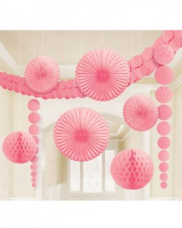 Pink Party Decoration Kit
