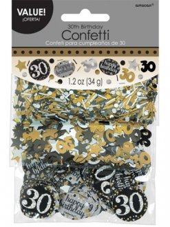 Gold Celebration 30th Confetti