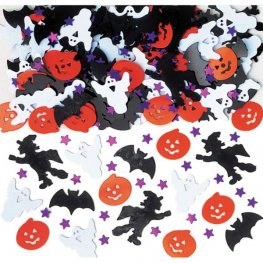 Halloween Night Metallic Confetti