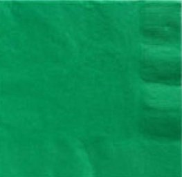 Festive Green 2ply Luncheon Napkins 20pk