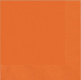 Orange Peel 2ply Luncheon Napkins 20pk