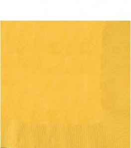 Sunshine Yellow 2ply Luncheon Napkins 20pk