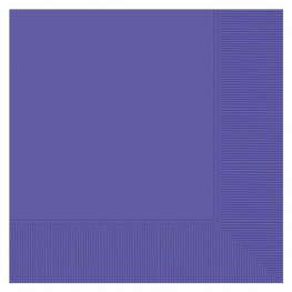 New Purple Luncheon Napkins 20pk
