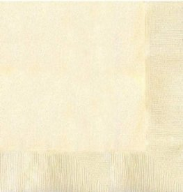 Vanilla Cream 2ply Luncheon Napkins 20pk
