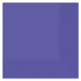New Purple Dinner Napkins 20pk