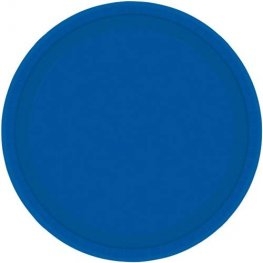 Bright Royal Blue Paper Plates 8pk