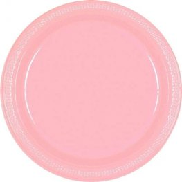 Baby Pink Paper Plates 8pk
