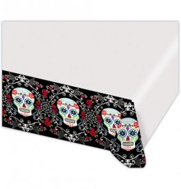 Day Of The Dead Plastic Tablecover 1pk