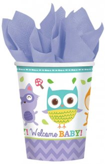 Woodland Welcome Cups 8pk
