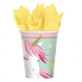 Magical Unicorn Paper Cups 8pk