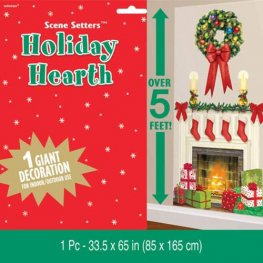 Holiday Hearth Plastic Scene Setter Decoration Add Ons