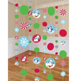 Joyful Snowman String Decorations