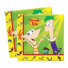 Phineas And Ferb Luncheon Napkins x20