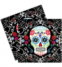 Day Of The Dead Luncheon Napkins 36pk